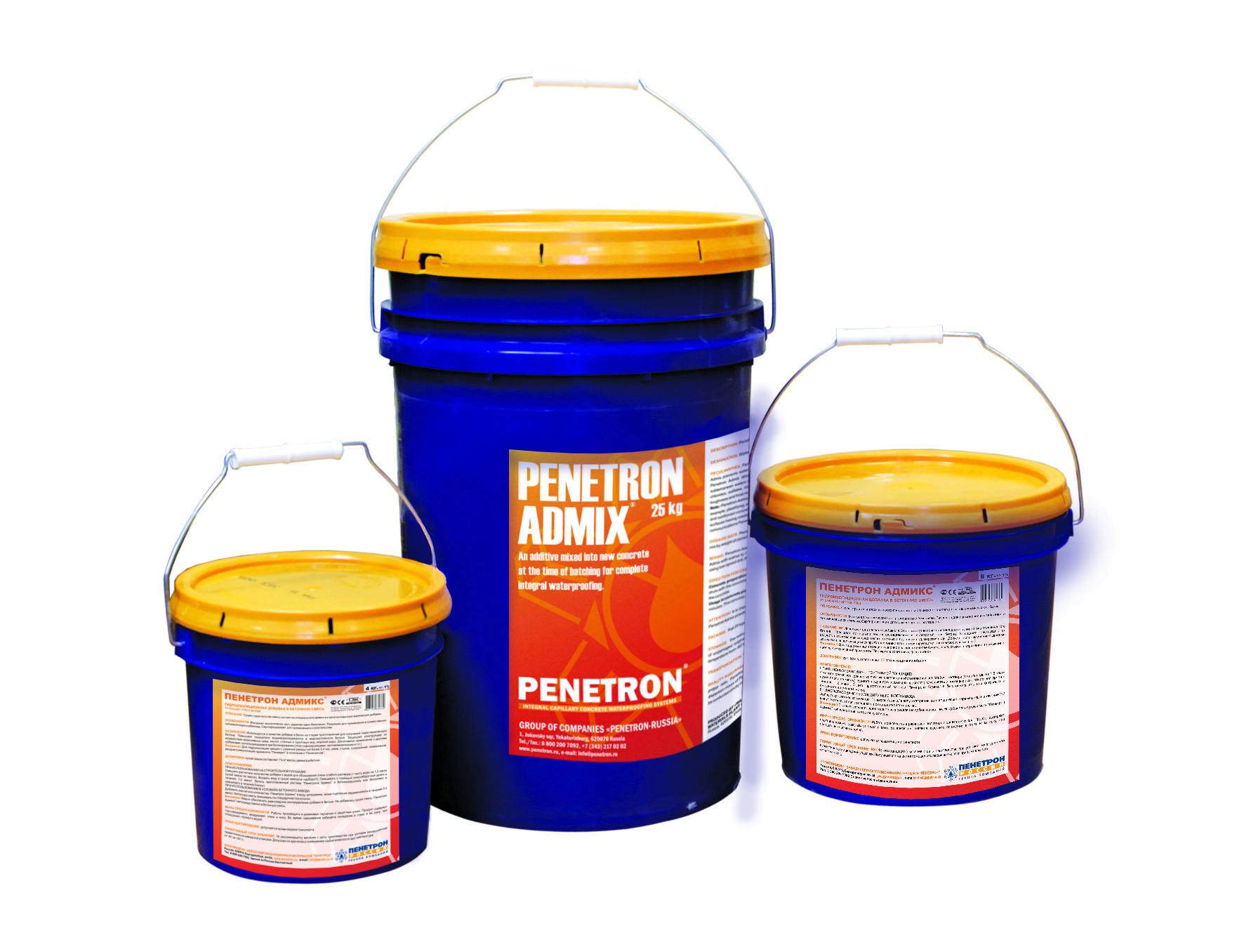 Пенетрон Адмикс – гидроизоляционная добавка
