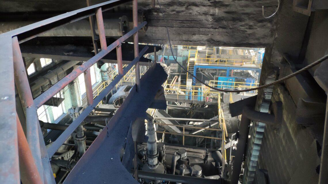 Резервуар технической воды. Сентябрь 2018г.